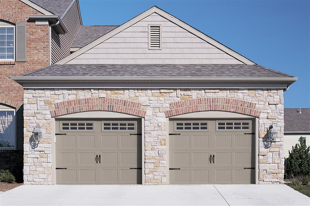 Carriage house stamped 5283 ottawa garage door systems for Carriage style garage doors with windows